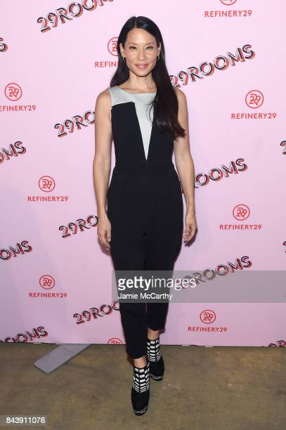 Actress Lucy Liu attends the Refinery29 Third Annual 29Rooms Turn It Into Art event on September 7 2017 in the Brooklyn borough of New York City City