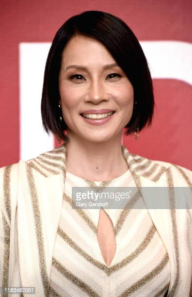 """Actress Lucy Liu attends the SAG-AFTRA Foundation Conversations: """"Why Women Kill"""" at The Robin Williams Center on October 25, 2019 in New York City."""