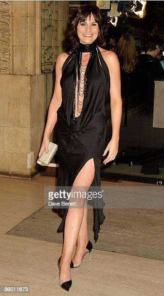 Actress Lucy Pargeter arrives at the National Television Awards 2005 at the Royal Albert Hall on October 25 2005 in London England
