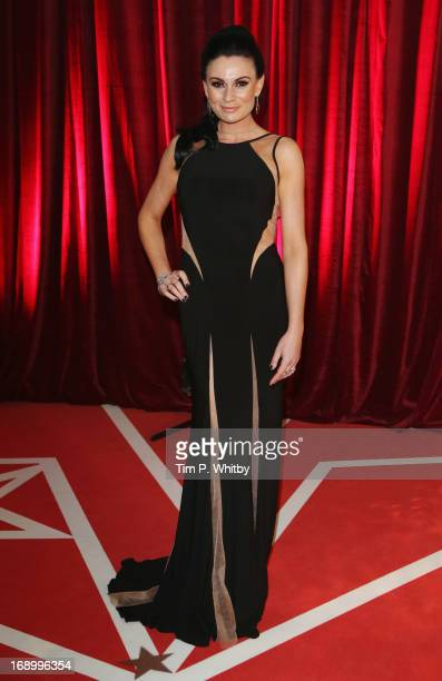 Actress Lucy Pargeter attends the British Soap Awards at Media City on May 18 2013 in Manchester England