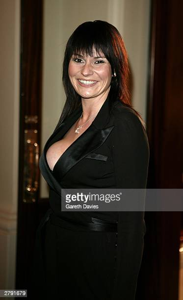Actress Lucy Pargeter attends the National TV Awards Party of the Year at the Royal Opera House December 7 2003 in London