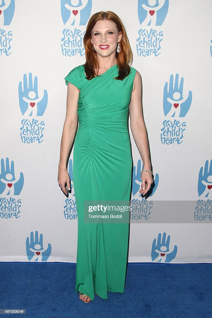 Actress Lucy Walsh attends the 2nd annual Save a Child's Heart Gala held at Sony Pictures Studios on November 15, 2015 in Culver City, California.