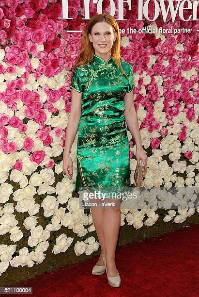 Actress Lucy Walsh attends the premiere of 'Mother's Day' at TCL Chinese Theatre IMAX on April 13 2016 in Hollywood California