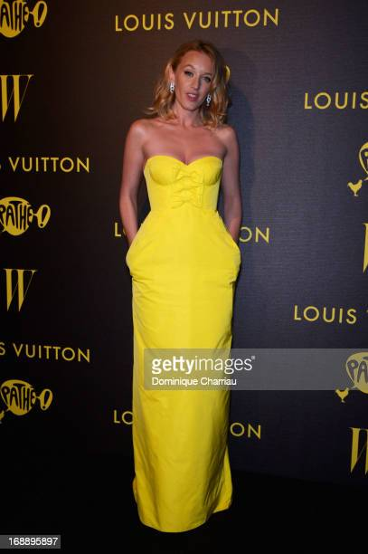 Actress Ludivine Sagnier attends The Bling Ring Party hosted by Louis Vuitton during The 66th Annual Cannes Film Festival at Club d'Albane/JW...