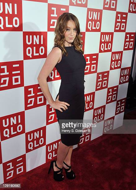 Actress Ludivine Sagnier attends the grand opening of the UNIQLO New York 5th Avenue Global Flagship Store on October 13 2011 in New York City