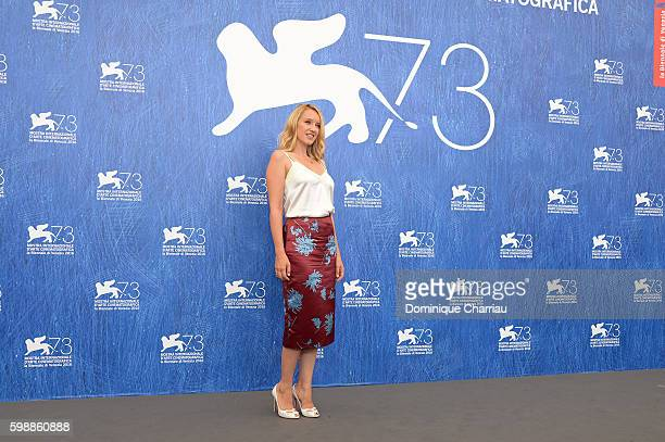 Actress Ludivine Sagnier attends the photocall of 'The Young Pope' during the 73rd Venice Film Festival at Palazzo del Casino on September 3, 2016 in...