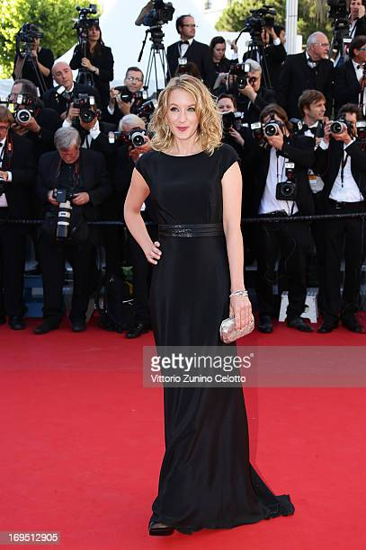 Actress Ludivine Sagnier attends the 'Zulu' Premiere and Closing Ceremony during the 66th Annual Cannes Film Festival at the Palais des Festivals on...