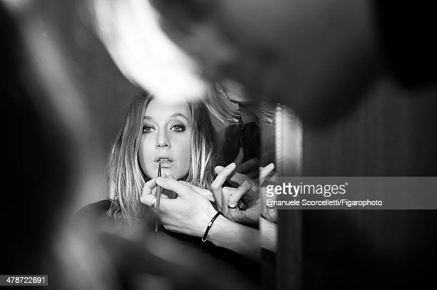 108881013 Actress Ludivine Sagnier is photographed for Madame Figaro on January 20 2014 in Paris France PUBLISHED IMAGE CREDIT MUST READ Emanuele...