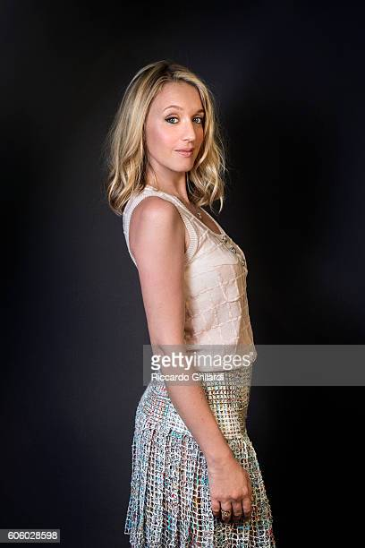 Actress Ludivine Sagnier is photographed for Self Assignment on September 4 2016 in Venice Italy