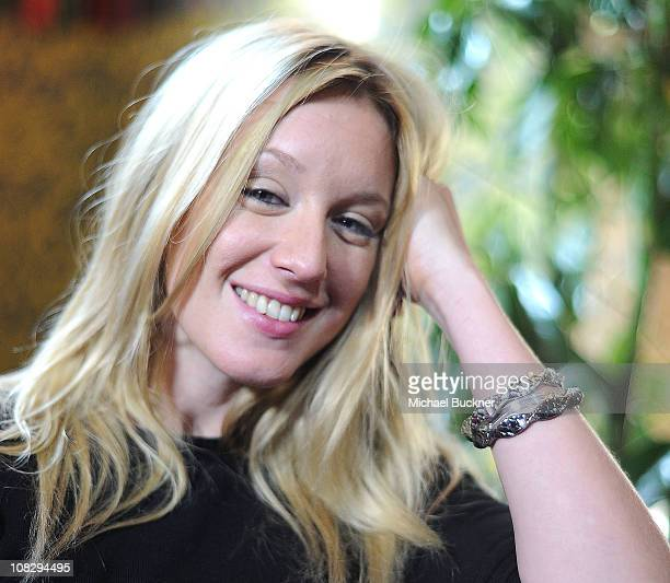 Actress Ludivine Sagnier poses for a portrait at 'The Devil's Double' Press Junket at the Bing Bar on January 24 2011 in Park City Utah