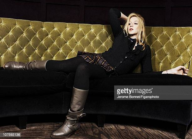 Actress Ludivine Sagnier poses for Madame Figaro on November 16 2010 in Paris France Published image Figaro ID 099479003 CREDIT MUST READ Jerome...