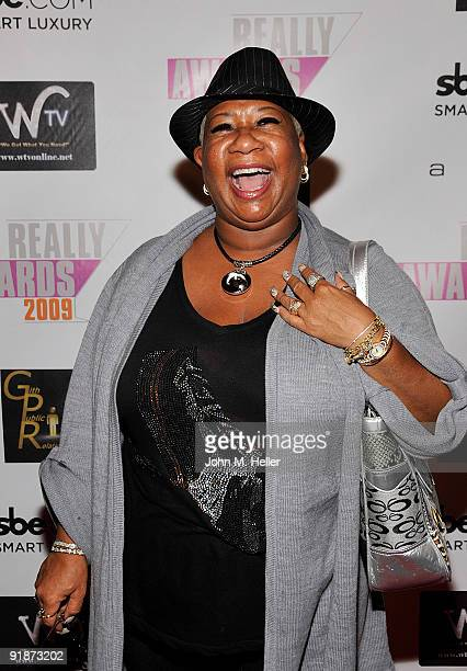 Actress Luenell attends the 2009 Really Awards official after party at Area on October 13 2009 in Los Angeles California