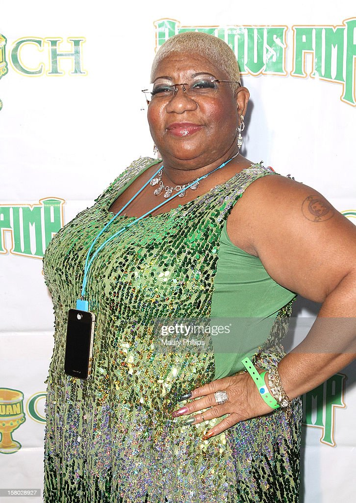 Actress Luenell Campell attends The Official International Players Ball 2012 and birthday celebration for Arch Bishop Don Magic Juan at Key Club on December 8, 2012 in West Hollywood, California.