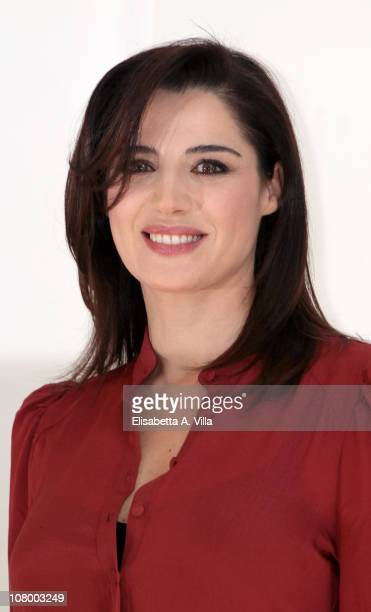 Actress Luisa Ranieri attends Immaturi photocall at the Adriano Cinema on January 12 2011 in Rome Italy