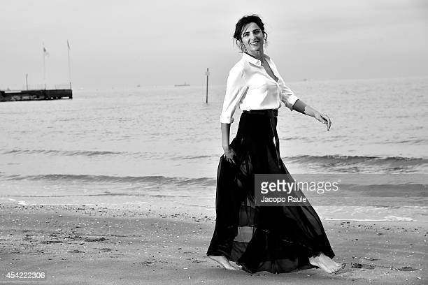 Actress Luisa Ranieri attentds the photocall during 71st Venice Film Festival on August 26 2014 in Venice Italy