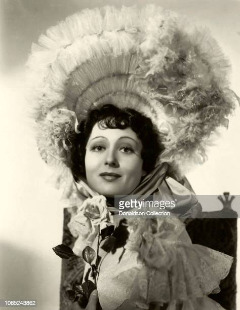 Actress Luise Rainer in a scene from the movie The Great Ziegfeld