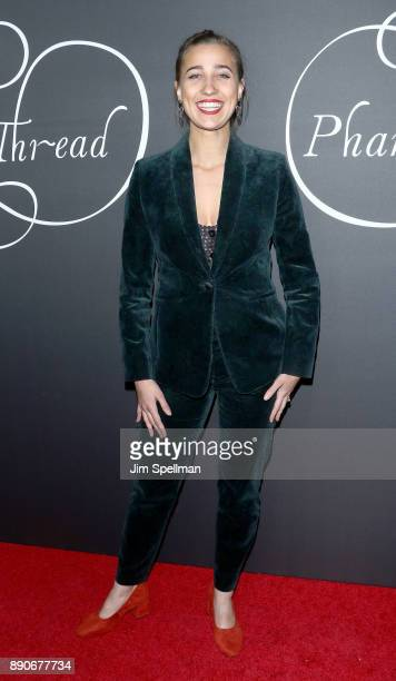 Actress Lujza Richter attends the 'Phantom Thread' New York premiere at Harold Pratt House on December 11 2017 in New York City