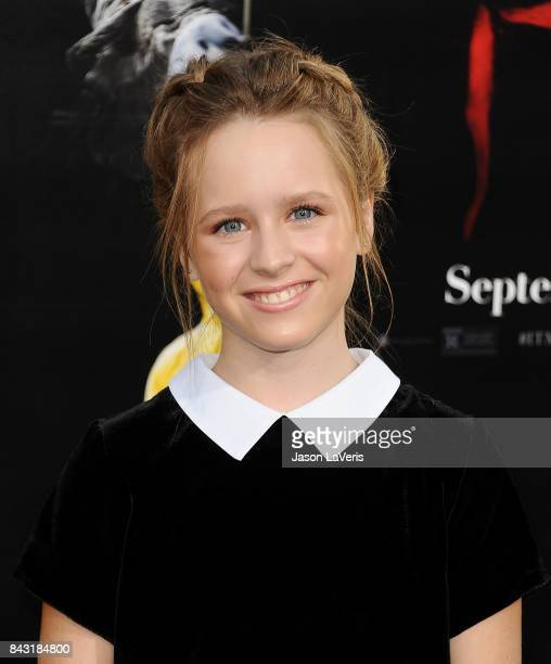 Actress Lulu Wilson attends the premiere of 'It' at TCL Chinese Theatre on September 5 2017 in Hollywood California