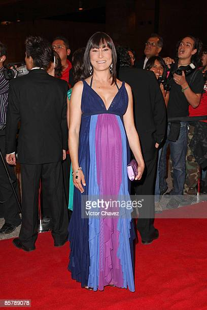 Actress Lumi Cavazos attends the 2009 Ariel 51 awards at Auditorio Nacional on March 31 2009 in Mexico City