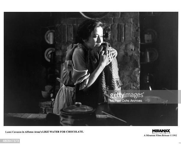 Actress Lumi Cavazos in a scene from the Miramax movie Like Water for Chocolate circa 1992