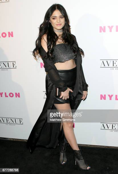 Actress Luna Blaise attends NYLON's Annual Young Hollywood May Issue Event at Avenue on May 2 2017 in Los Angeles California