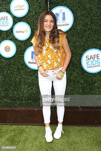Actress Luna Blaise attends Safe Kids Day at Smashbox Studios on April 24 2016 in Culver City California