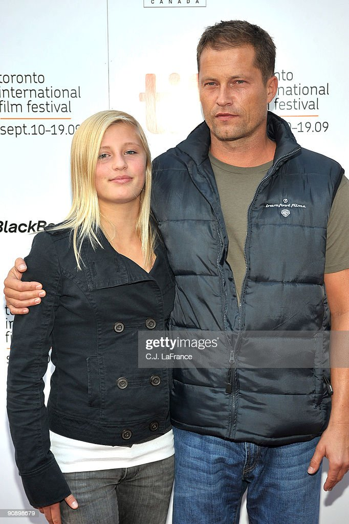 Actress Luna Schweiger And Actor Til Schweiger Arrive At The