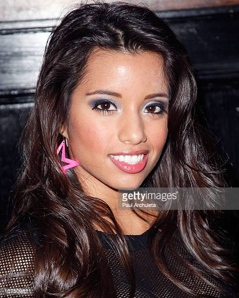 Actress Lupe Fuentes attends Etty Farrell's Rock 'N' Roll Birthday bash at 1616 Restaurant Club on December 9 2010 in Los Angeles California