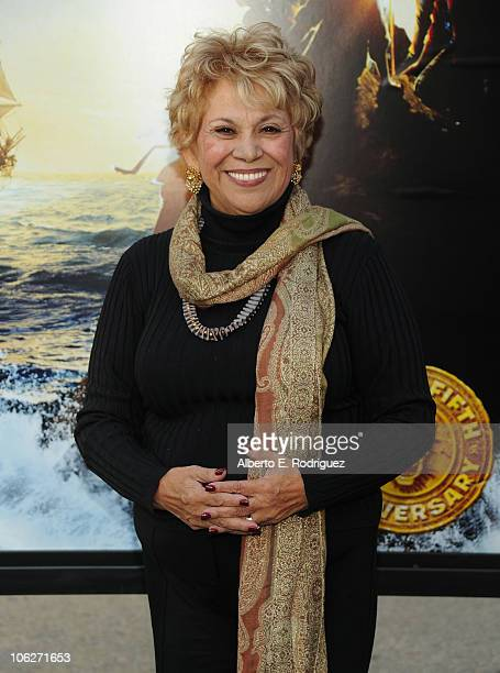 Actress Lupe Ontiveros at the Warner Bros 25th Anniversary celebration of The Goonies on October 27 2010 in Burbank California