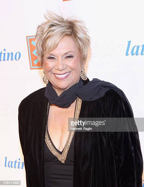 Actress Lupe Ontiveros attends the 2011 CIELO Gala at Cipriani Wall Street on May 10, 2011 in New York City.