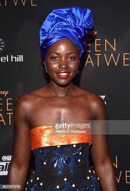 "Actress Lupita Nyong'o arrives at the world premiere of Disney's ""Queen of Katwe"" at Roy Thompson Hall as part of the 2016 Toronto Film Festival..."