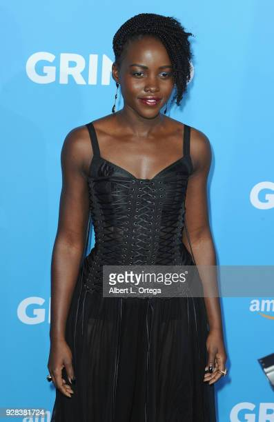 Actress Lupita Nyong'o arrives for the Premiere Of Amazon Studios And STX Films' 'Gringo' held at Regal LA Live Stadium 14 on March 6 2018 in Los...