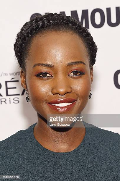 Actress Lupita Nyong'o attends 2015 Glamour Women Of The Year Awards at Carnegie Hall on November 9 2015 in New York City