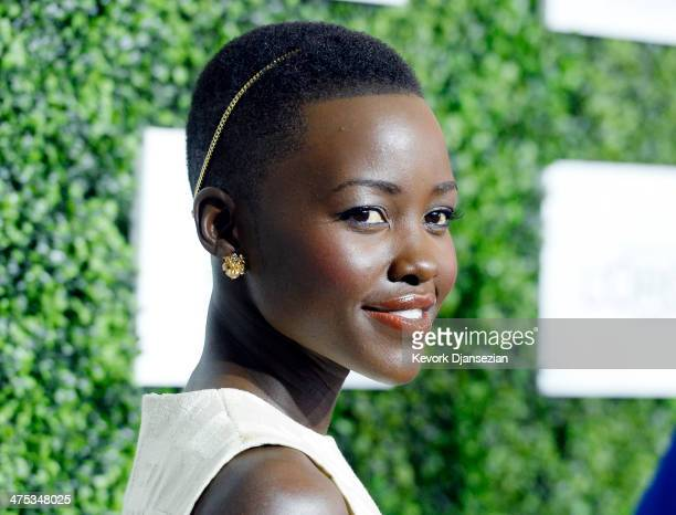 Actress Lupita Nyong'o attends 7th Annual ESSENCE Black Women In Hollywood Luncheon February 27 2014 in Beverly Hills California