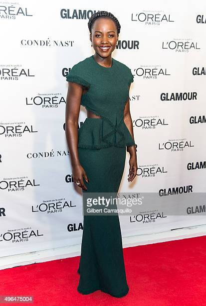 Actress Lupita Nyong'o attends Glamour's 25th Anniversary Women Of The Year Awards at Carnegie Hall on November 9 2015 in New York City