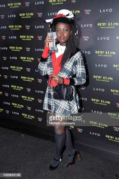 Actress Lupita Nyong'o attends Heidi Klum's 19th Annual Halloween Party at Lavo on October 31 2018 in New York City