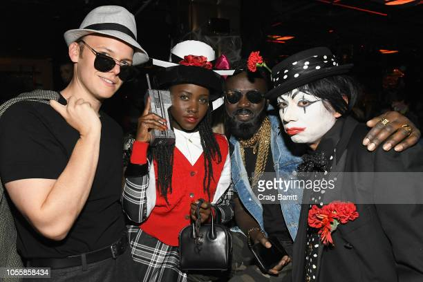 Actress Lupita Nyong'o attends Heidi Klum's 19th Annual Halloween Party Sponsored by SVEDKA Vodka and Party City at Lavo NYC on October 31 2018 in...