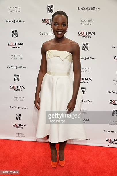 Actress Lupita Nyong'o attends IFP's 23nd Annual Gotham Independent Film Awards at Cipriani Wall Street on December 2 2013 in New York City