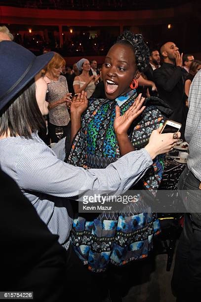 Actress Lupita Nyong'o attends Keep A Child Alive's Black Ball 2016 at Hammerstein Ballroom on October 19 2016 in New York City