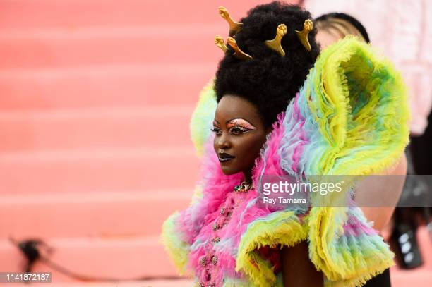 Actress Lupita Nyong'o attends The 2019 Met Gala Celebrating Camp Notes on Fashion at Metropolitan Museum of Art on May 6 2019 in New York City