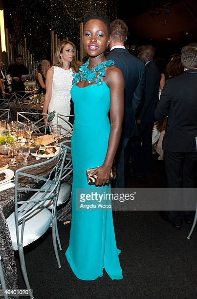 Actress Lupita Nyong'o attends the 20th Annual Screen Actors Guild Awards at The Shrine Auditorium on January 18, 2014 in Los Angeles, California.