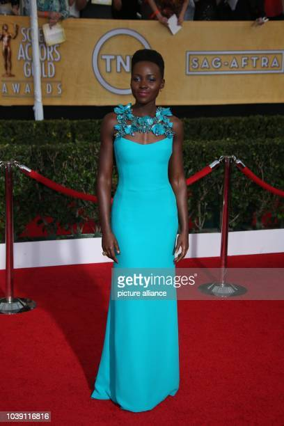 Actress Lupita Nyong'o attends the 20th annual Screen Actor's Guild Awards aka SAG Awards at Shrine Auditorim in Los Angeles USA on 18 January 2014...