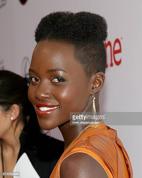 Actress Lupita Nyong'o attends the 45th NAACP Image Awards presented by TV One at Pasadena Civic Auditorium on February 22 2014 in Pasadena California