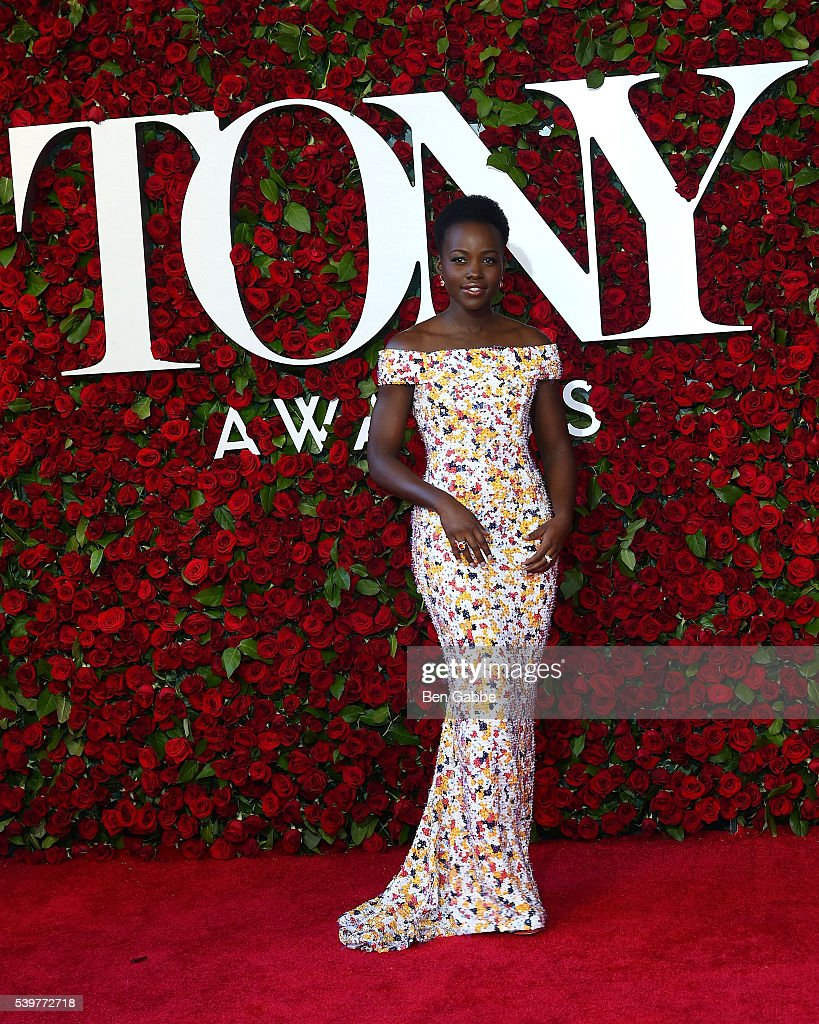 Actress Lupita Nyong'o attends the 70th Annual Tony Awards at The Beacon Theatre on June 12, 2016 in New York City.