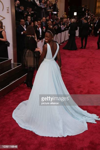 Actress Lupita Nyong'o attends the 86th Academy Awards aka Oscars at Dolby Theatre in Los Angeles USA on 02 March 2014 Photo Hubert Boesl | usage...