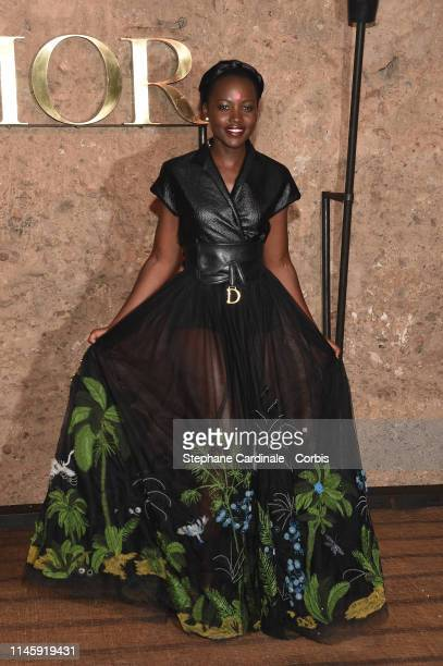 Actress Lupita Nyong'o attends the Christian Dior Couture S/S20 Cruise Collection on April 29, 2019 in Marrakech, Morocco.