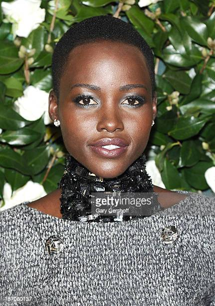 Actress Lupita Nyong'o attends the Museum of Modern Art 2013 Film benefit A Tribute To Tilda Swinton on November 5 2013 in New York City