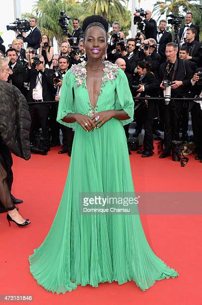 Actress Lupita Nyong'o attends the opening ceremony and premiere of La Tete Haute during the 68th annual Cannes Film Festival on May 13 2015 in...