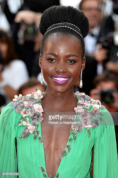 Actress Lupita Nyong'o attends the opening ceremony and premiere of 'La Tete Haute' during the 68th annual Cannes Film Festival on May 13 2015 in...