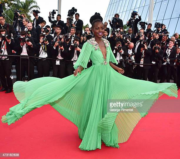 Actress Lupita Nyong'o attends the opening ceremony and premiere of 'La Tete Haute during the 68th annual Cannes Film Festival on May 13 2015 in...
